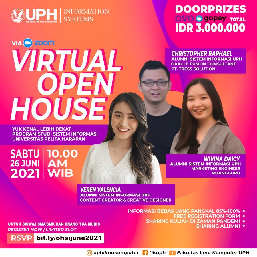 Virtual Open House Program Studi Sistem Informasi