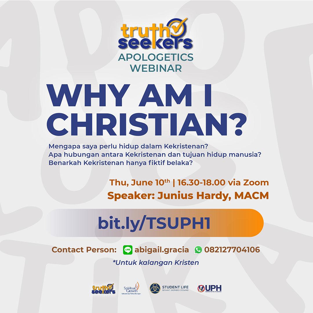 Why Am I Christian?