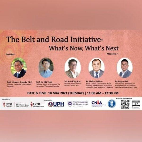 Pandangan Guru Besar Hubungan Internasional UPH dalam Konferensi Internasional 'The Belt and Road Initiative: What's Now, What's Next' UCSI Malaysia