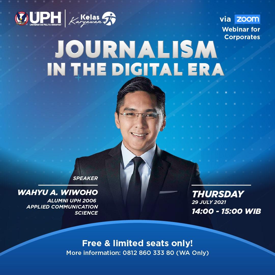 Journalism in the Digital Era