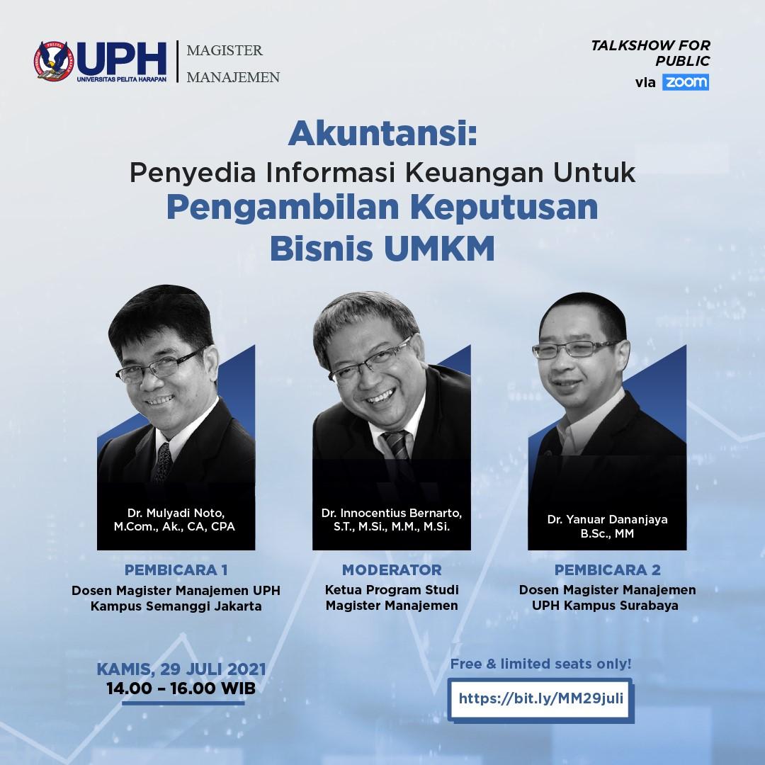 Akuntansi: Penyedia Informasi Keuangan Untuk Pengambilan Keputusan Bisnis UMKM