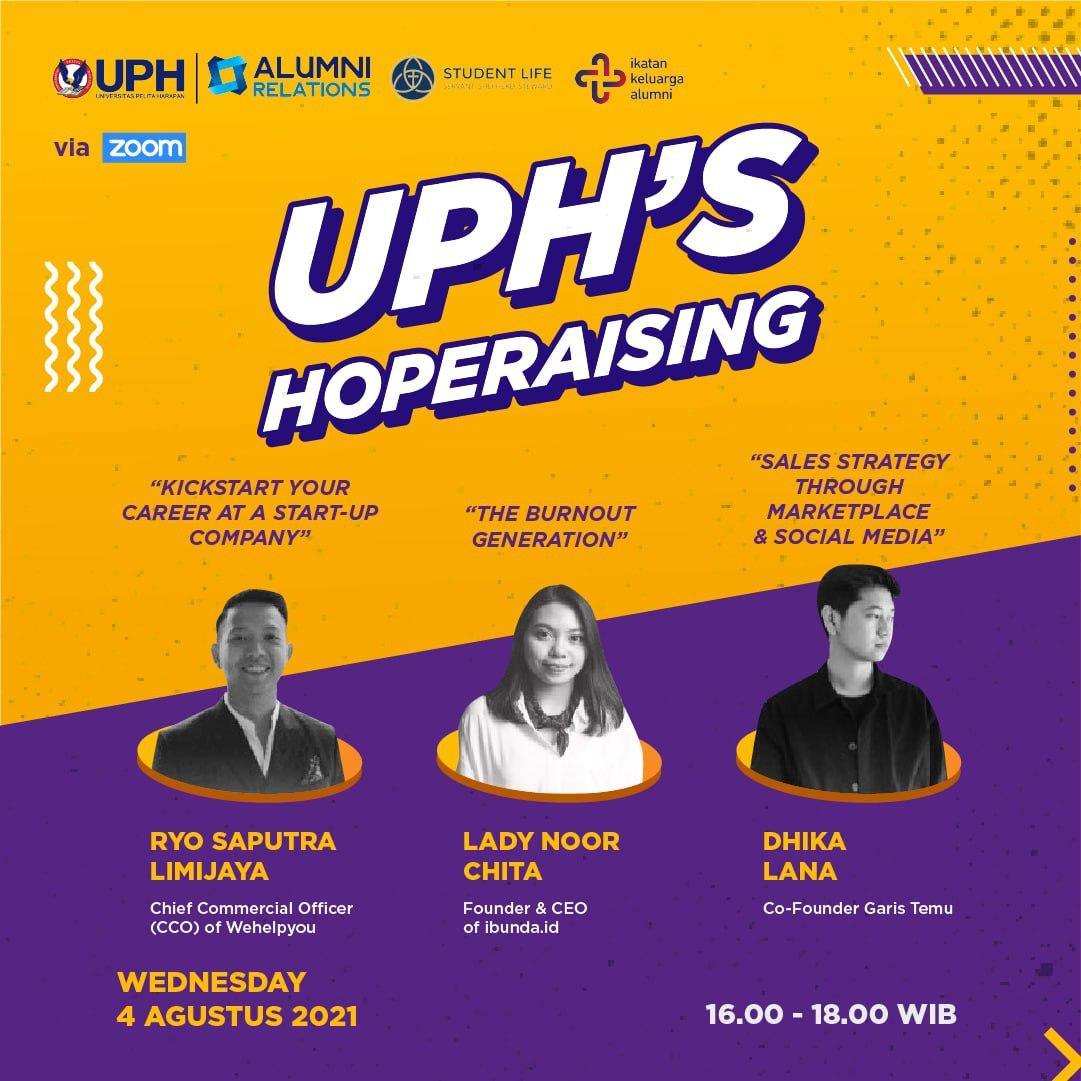 UPH's HOPERAISING