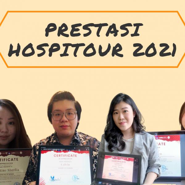Mahasiswa Fakultas Pariwisata UPH Raih Juara Terbanyak di Hospitour 2021