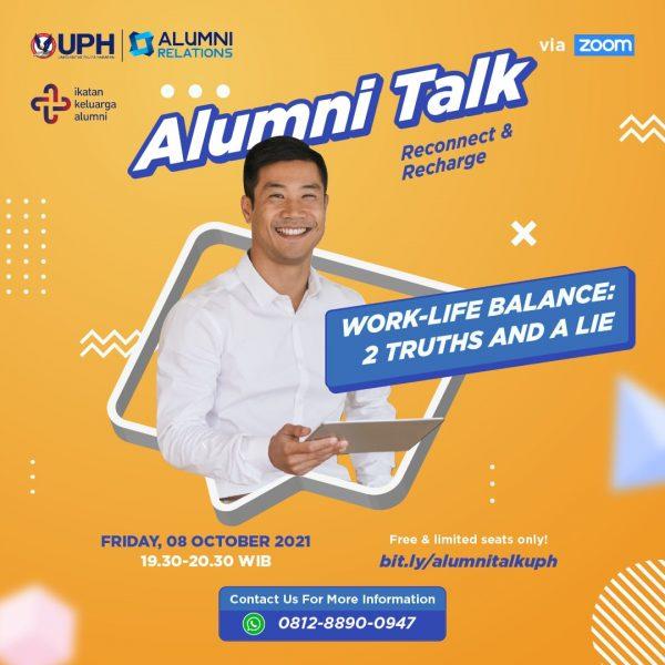 Alumni Talk: Reconnect & Recharge