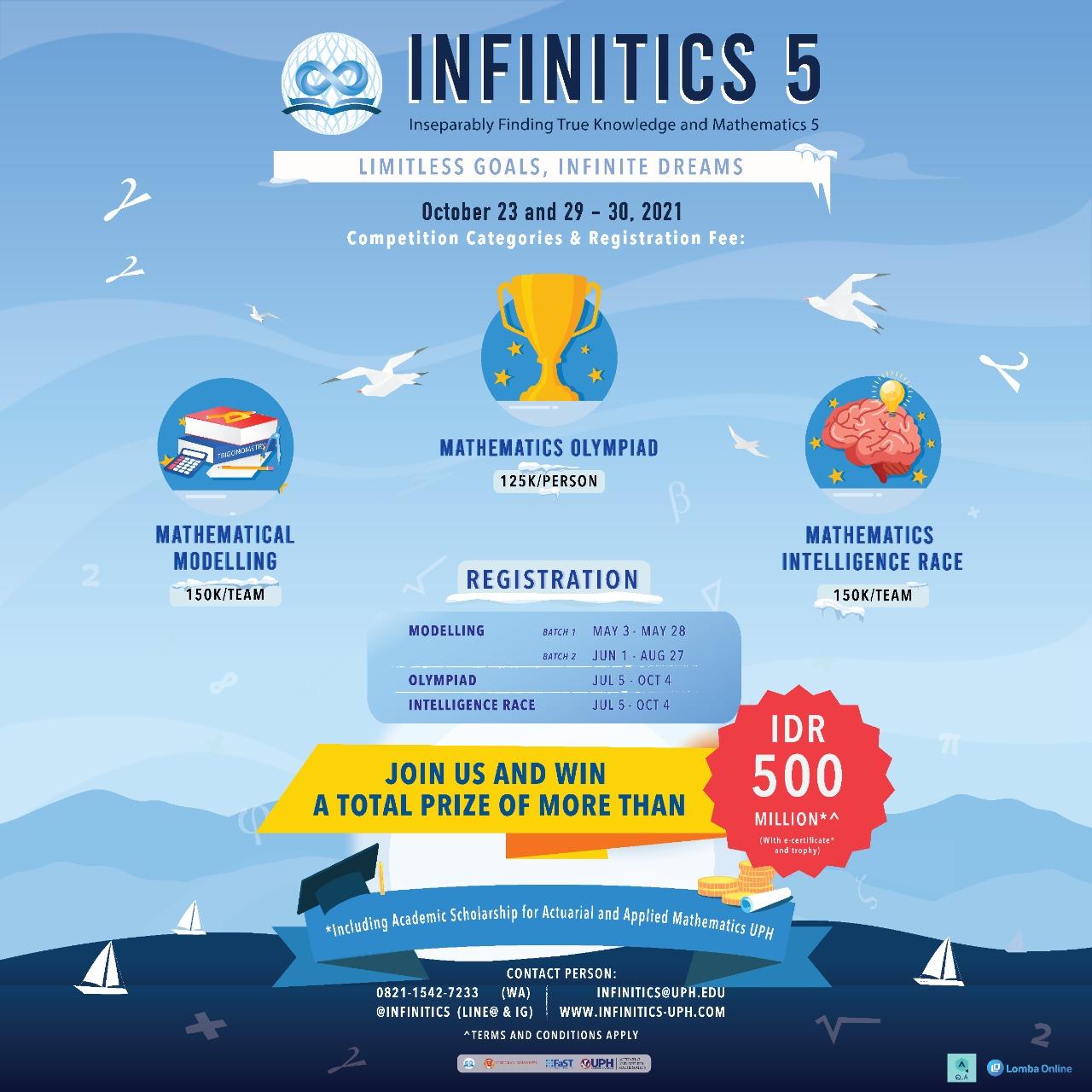 INFINITICS 5: Limitless Goals, Infinite Dreams