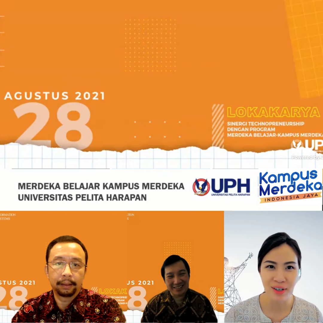 SI UPH Gelar Lokakarya Sinergi Technopreneurship, Implementasikan Kurikulum MBKM