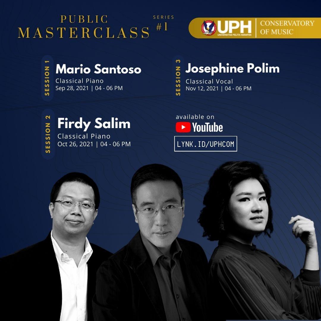 UPH Conservatory of Music Public Masterclass Series