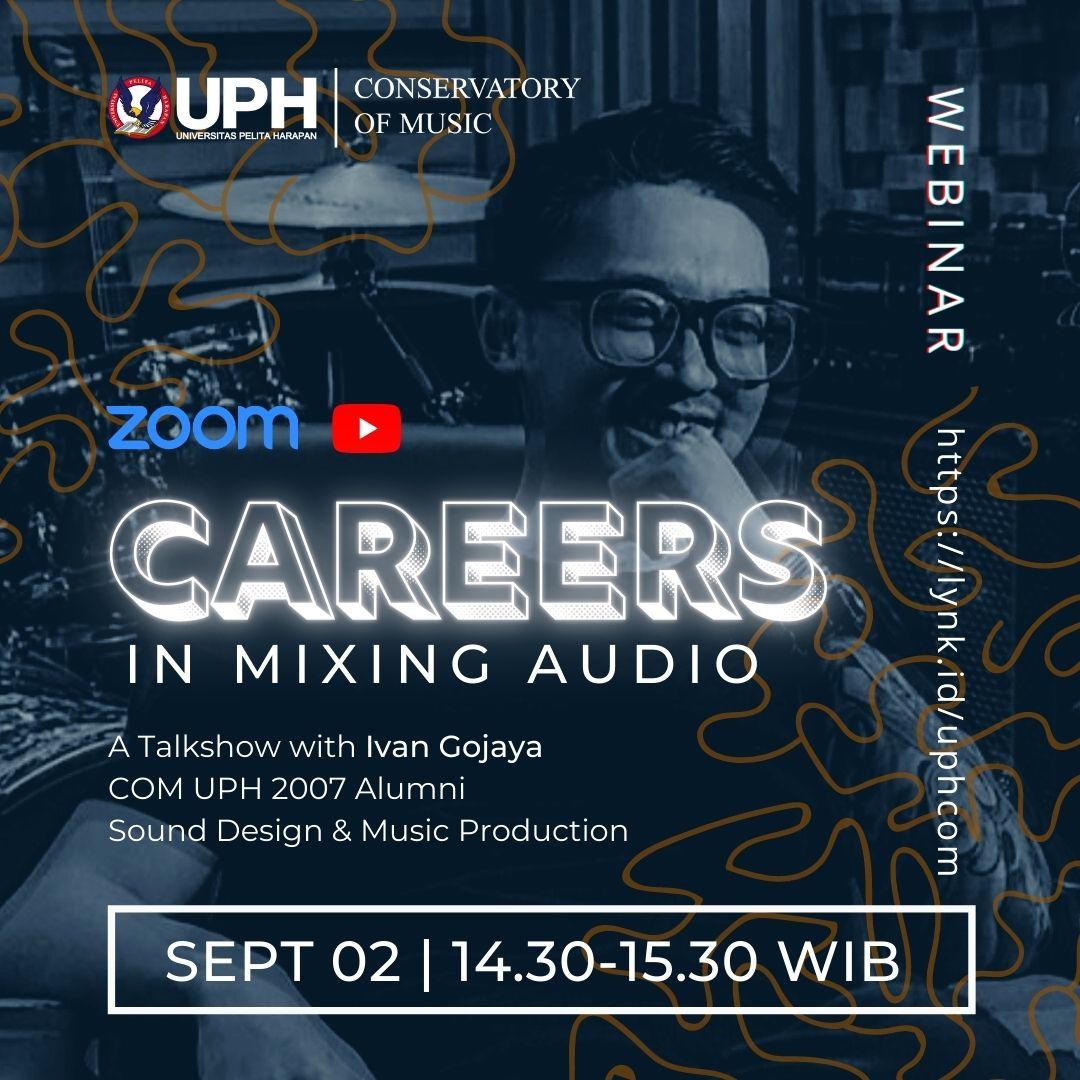Careers in Mixing Audio