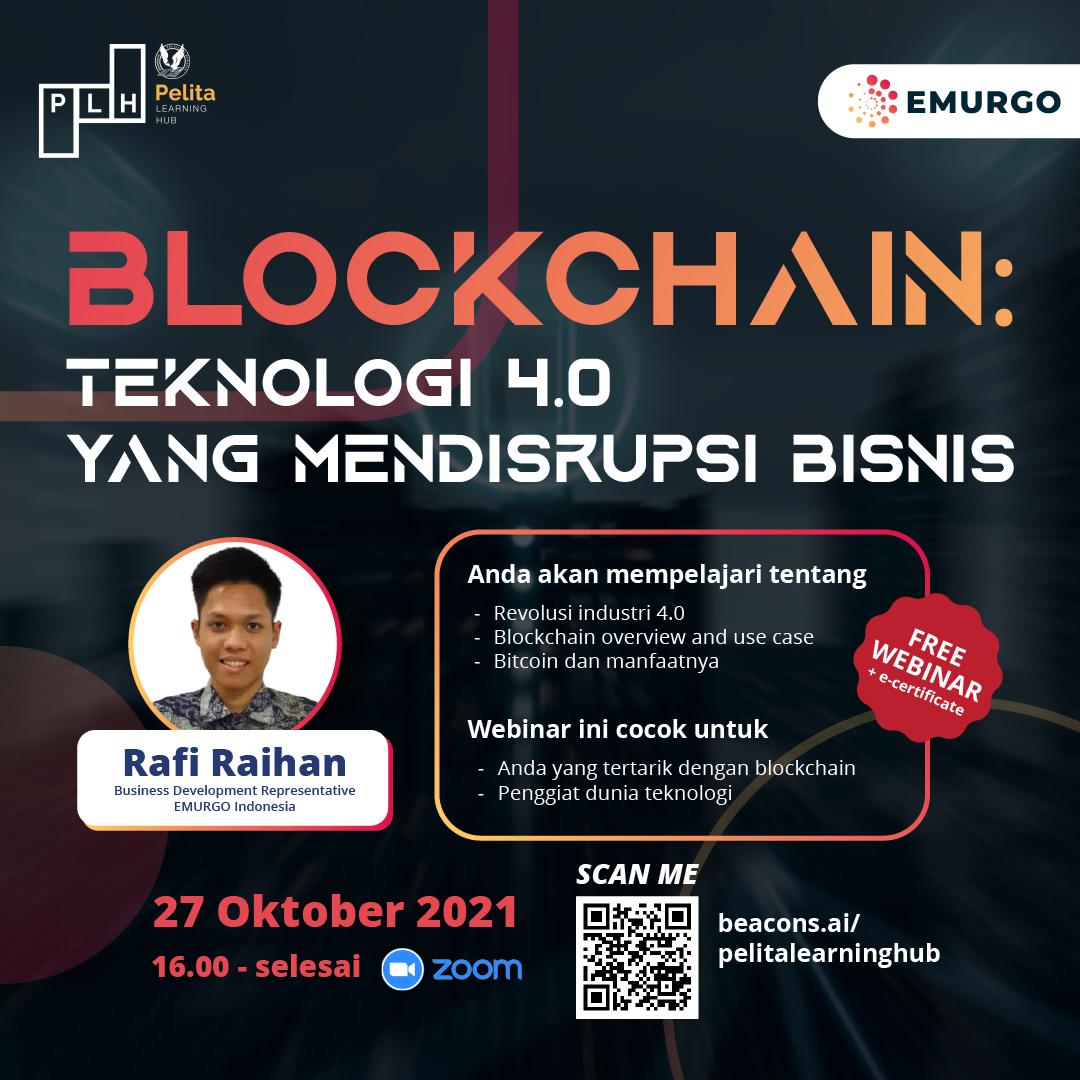 Blockchain: Teknologi 4.0 Yang Mendisrupsi Bisnis