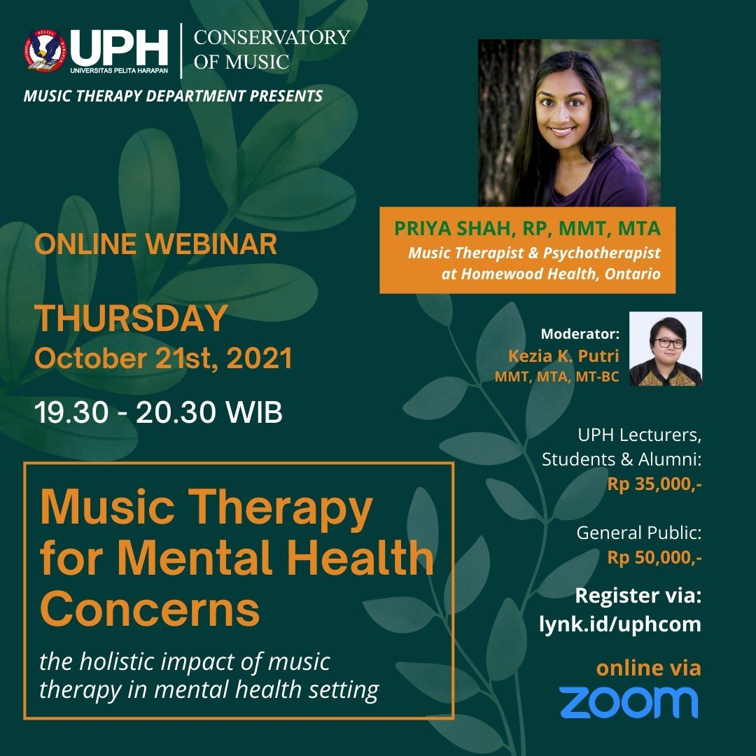 Music Therapy for Mental Health Concerns