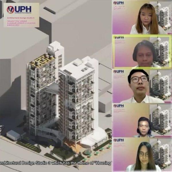 Arsitektur UPH Raih 'Future Pillar Award' dalam Penghargaan Autodesk ASEAN Innovation Awards 2021